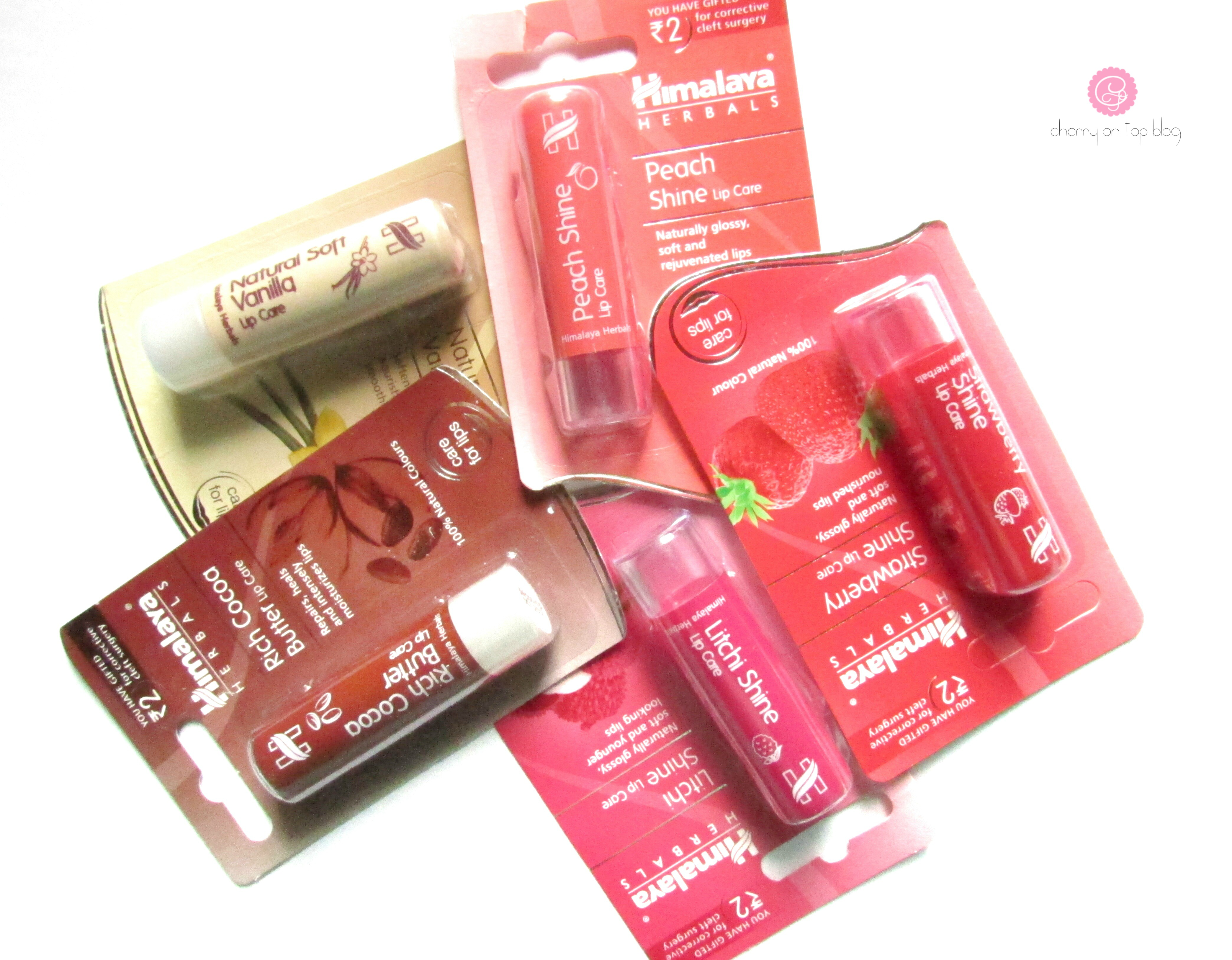 All New Himalaya Herbals Lip Care Lip Balms Review| cherryontopblog.com