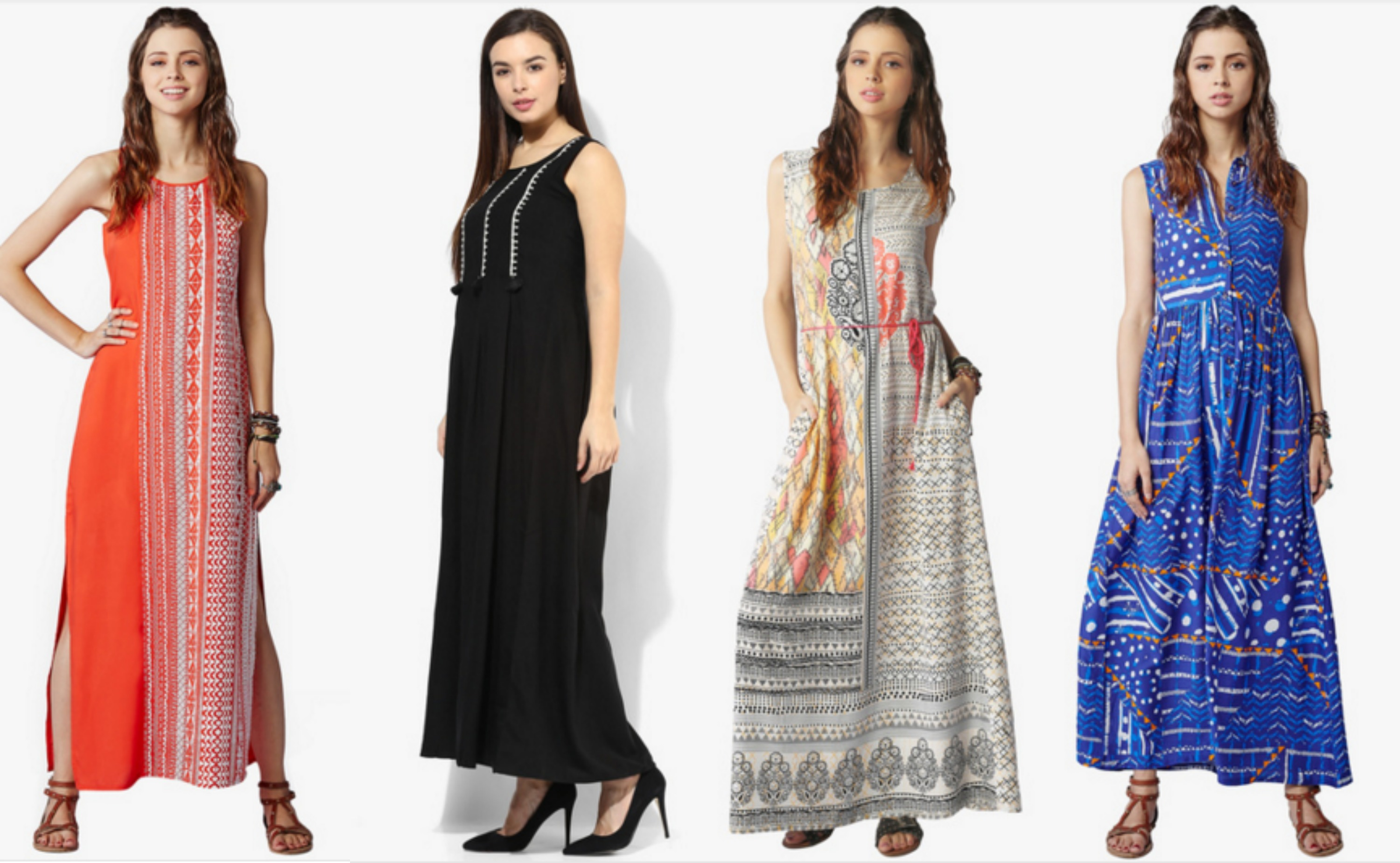 Global Desi Spring/Summer Collection, 2016 Review|Maxi Dresses| cherryontopblog.com