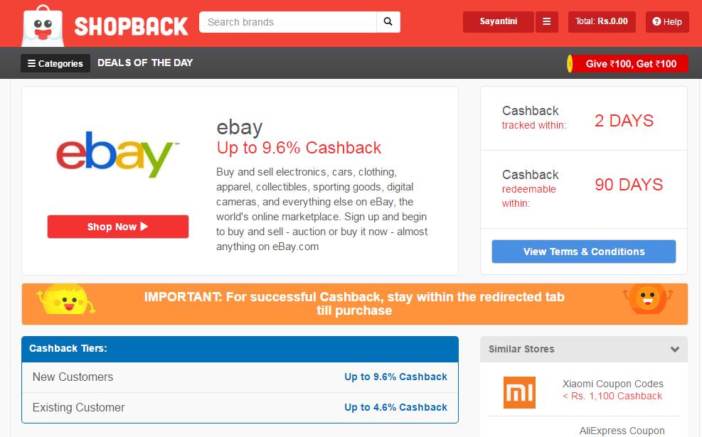 ShopBack- Deals. Discounts & Cashbacks Website Review| cherryontopblog.com