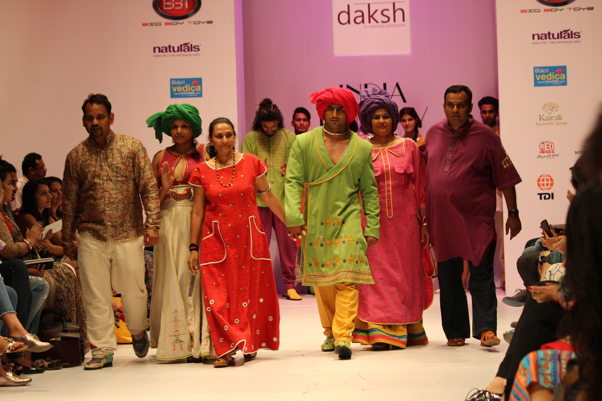 Suman Kundu, Sandeep Narwal, Sunil dabas has walked the ramp for DAKSH label|India Runway Week| cherryontopblog.com