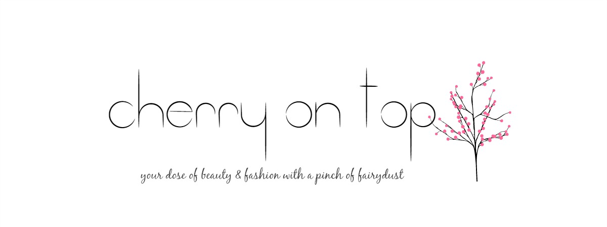 Cherry on Top- Indian Beauty, Fashion & Lifestyle Blog