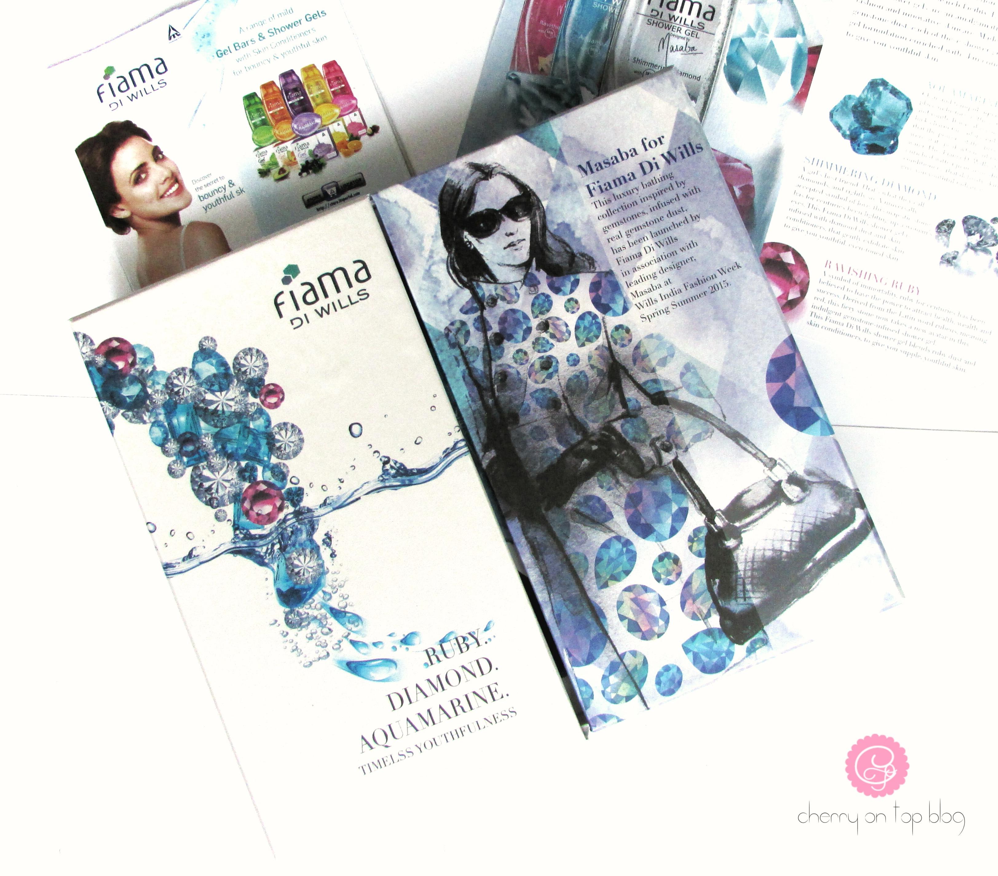 Fiama Di Wills Shower Jewels by Masaba Gupta- Aquamarine Agleam Review| cherryontopblog.com