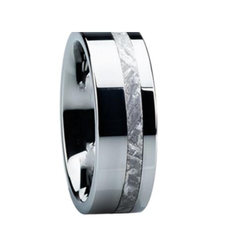 Wedding Bands that Will Last Forever- Polished Tungsten Carbide Bands for Men| cherryontopblog.com