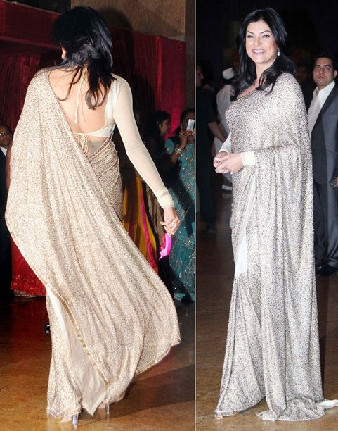 Deepika Padukone in Saree| Bollywood Divas Who Look Simply Mind-blowing in Sarees| cherryontopblog.com
