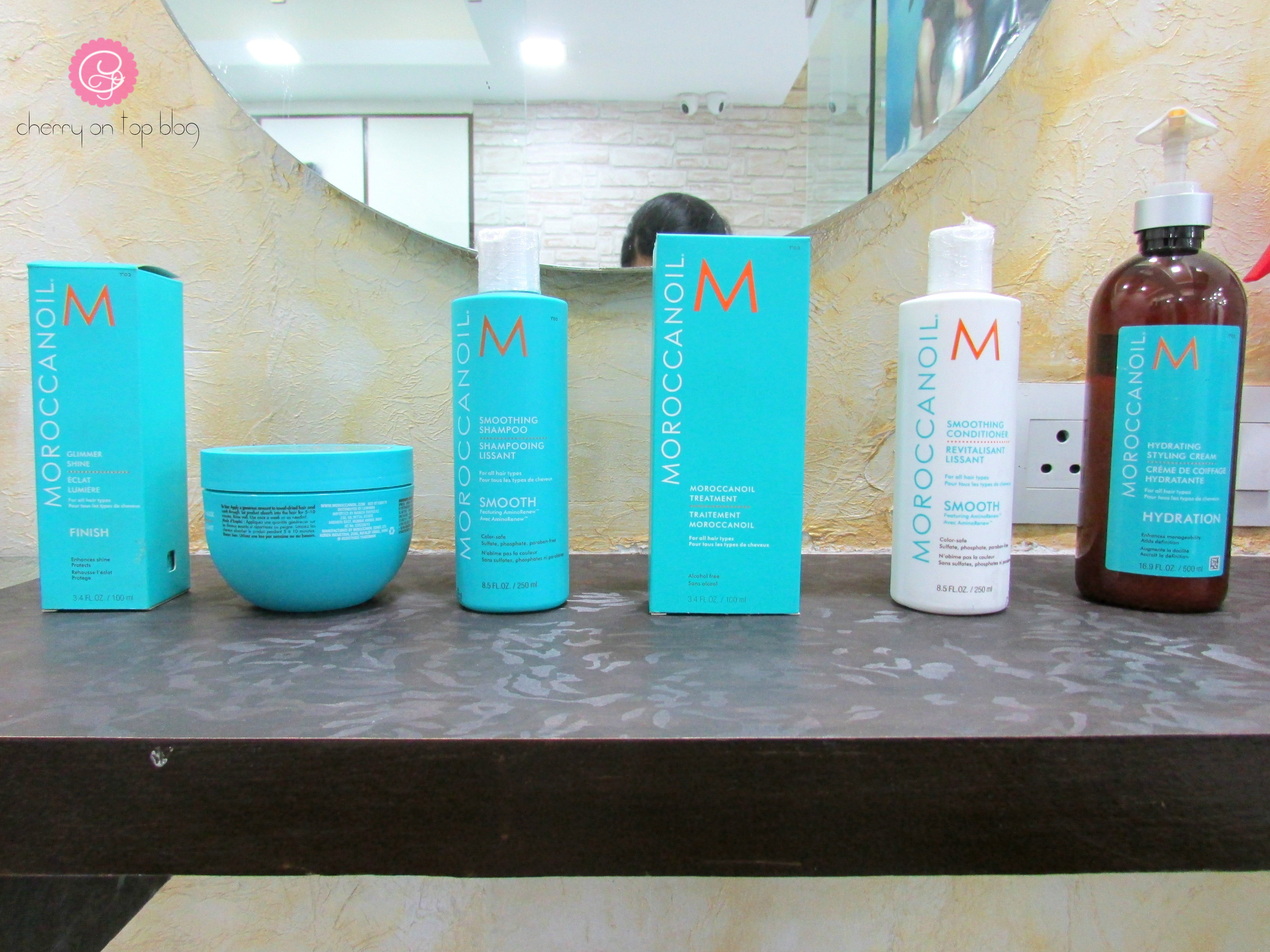 Moroccanoil Smoothing Hair Spa Experience  cherryontopblog.com