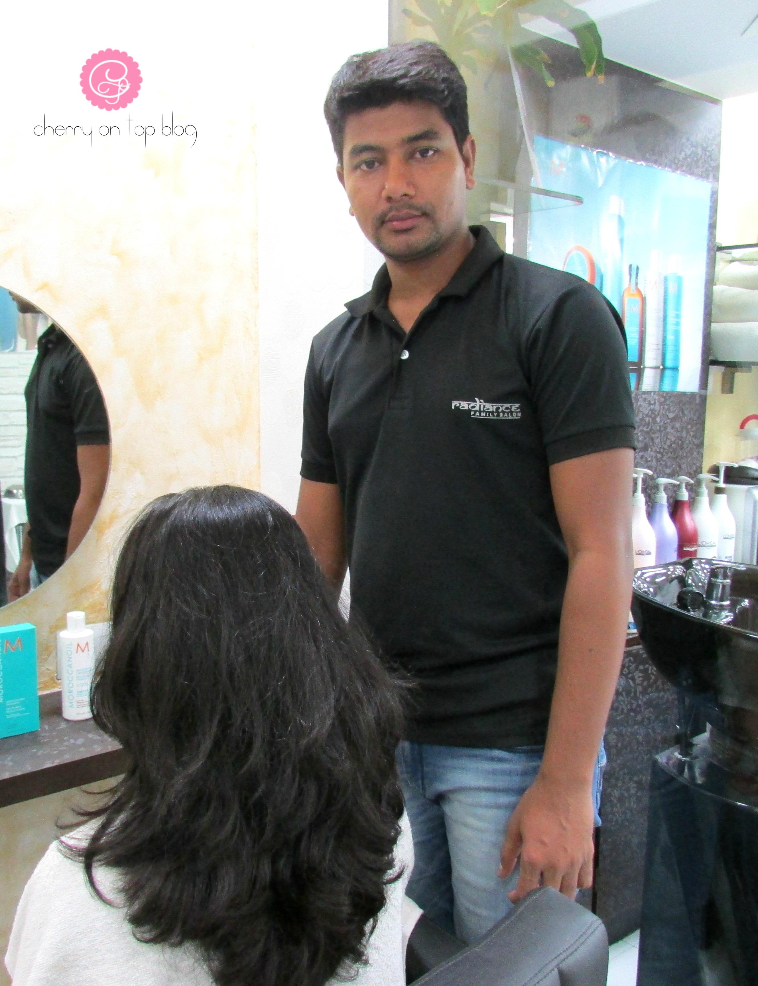 Moroccanoil Smoothing Hair Spa Treatment in Kolkata