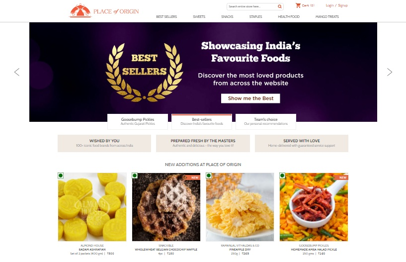 Order Your Favourite Indian Sweets Online with PlaceofOrigin.in| cherryontopblog.com