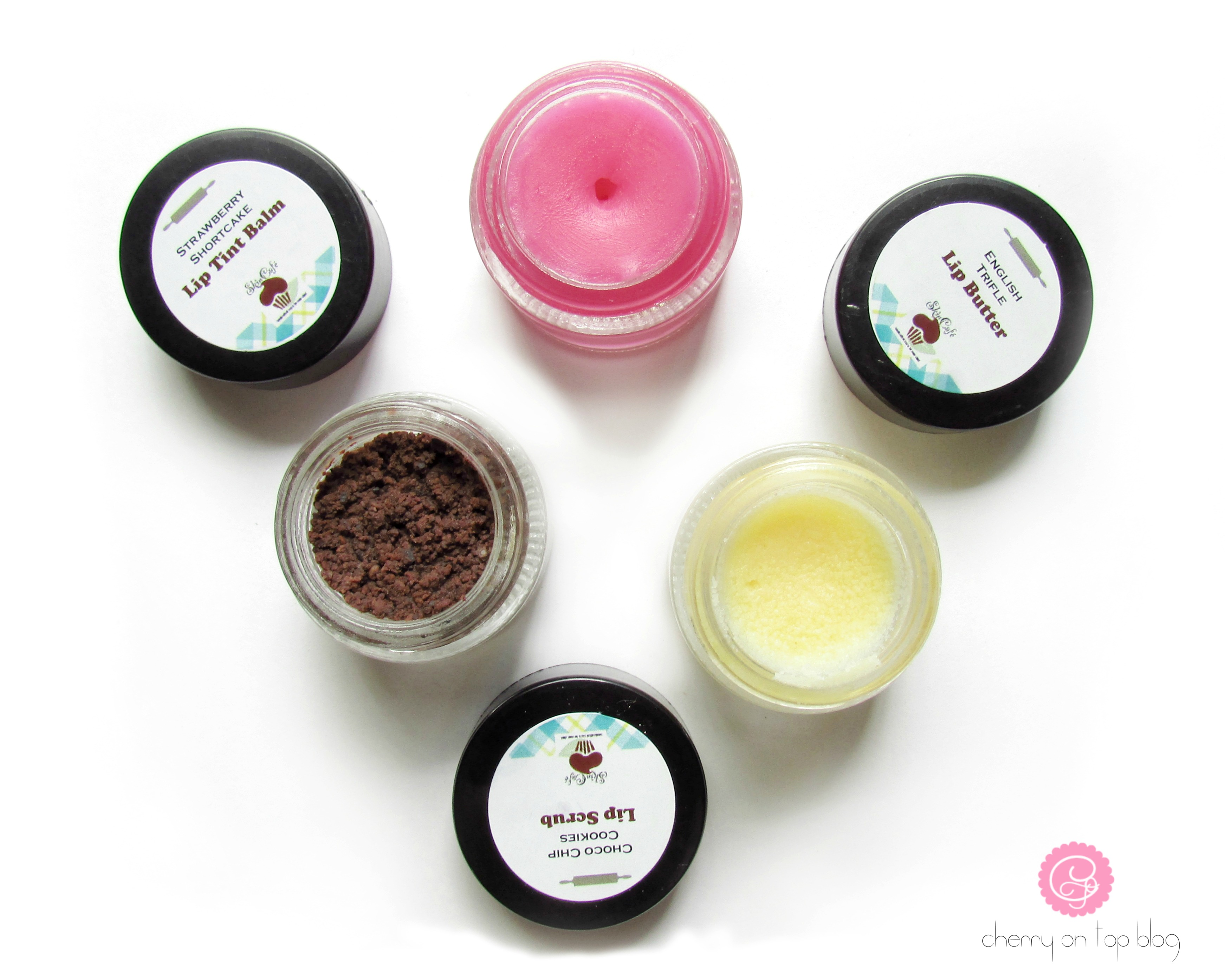 SkinCafe Lip Care Range- Scrub, Butter & Tinted Balm Review| cherryontopblog.com