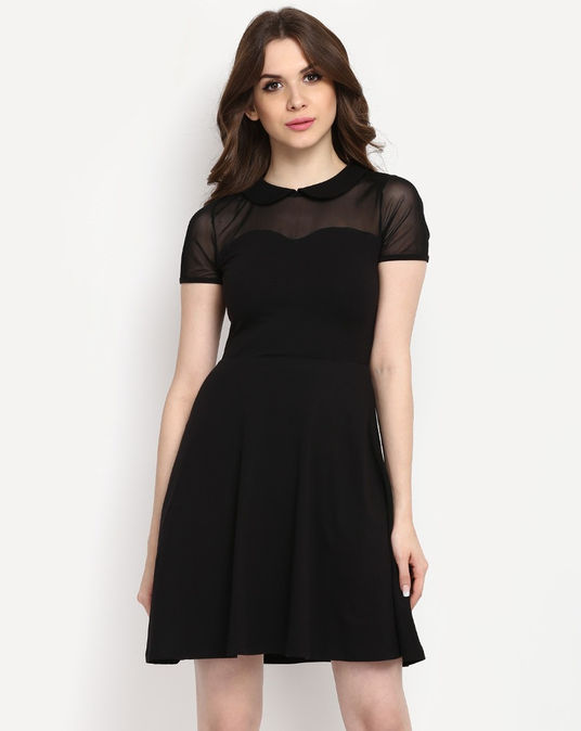Black Skater Dress| StalkBuyLove