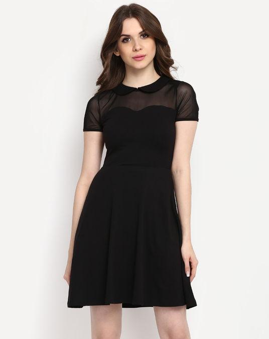 Black Skater Dress  StalkBuyLove