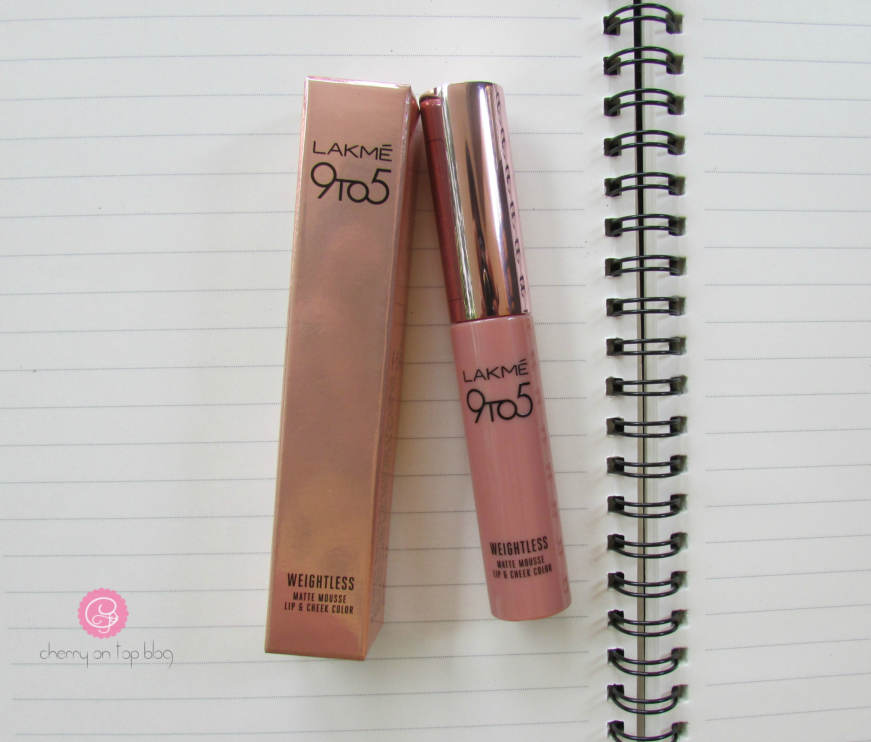 Lakme 9to5 Weightless Matte Mousse Lip & Cheek Color Burgundy Lush Review  Cherry On Top
