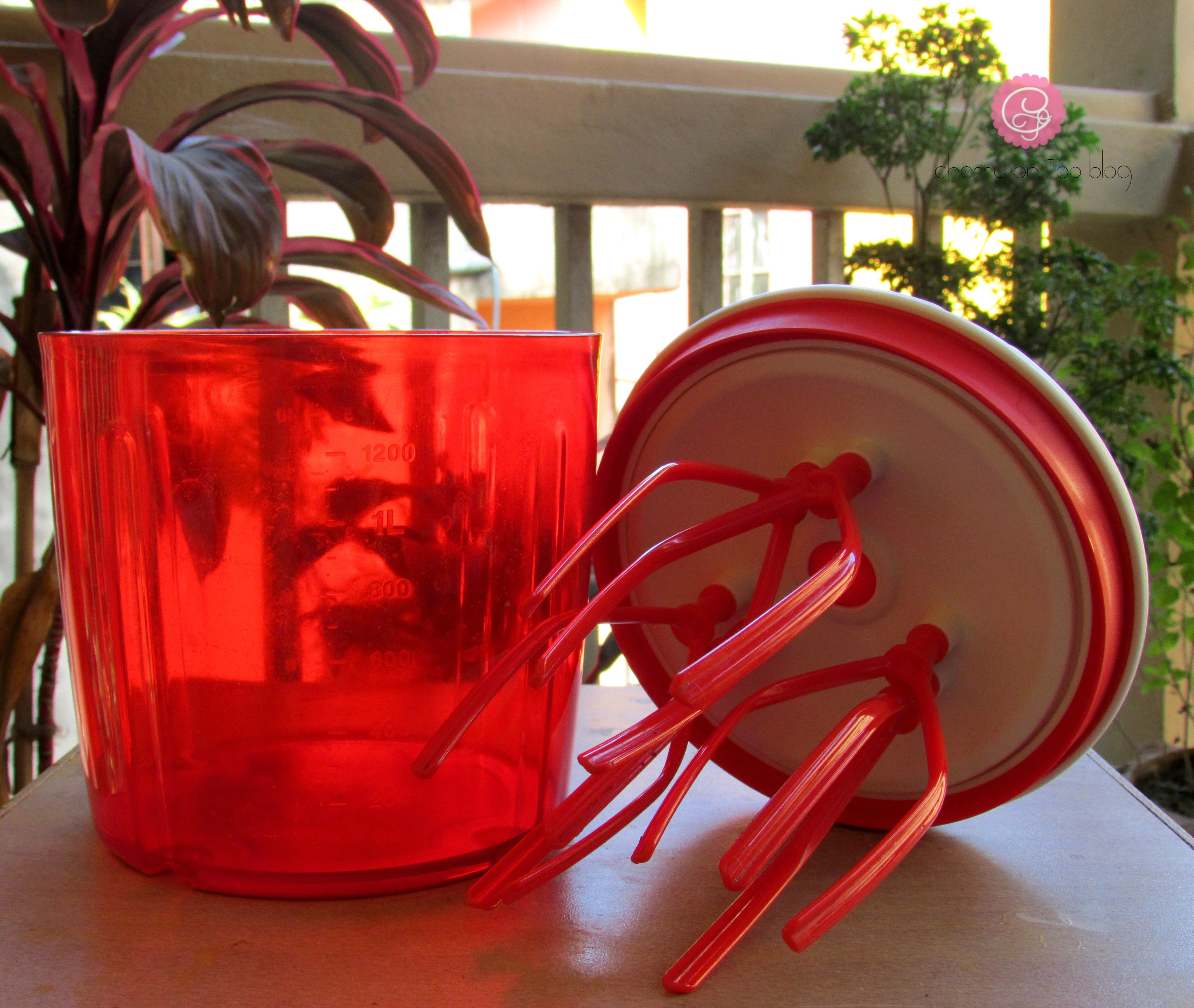 Baking Made Easy with Tupperware Ultimo Speedy Chef| Cherry On Top