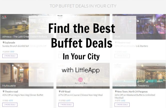 Find the Best Buffet Deals in Your City with LittleApp | Cherry On Top
