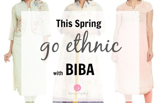 This Spring Go Ethnic with BIBA Kurtas  Cherry On Top