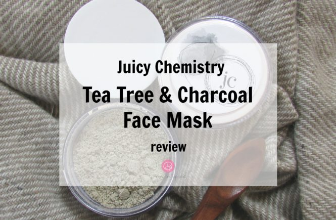 Juicy Chemistry Tea Tree & Charcoal Face Mask Review | Cherry On Top
