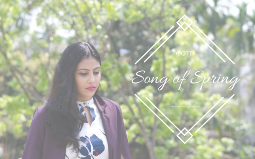 Song of Spring | Outfit Ideas for Spring | Cherry On Top