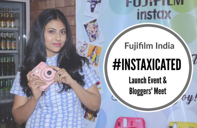 Got #instaxicated with Fujifilm Instax- Kolkata Bloggers' Meet | Cherry On Top