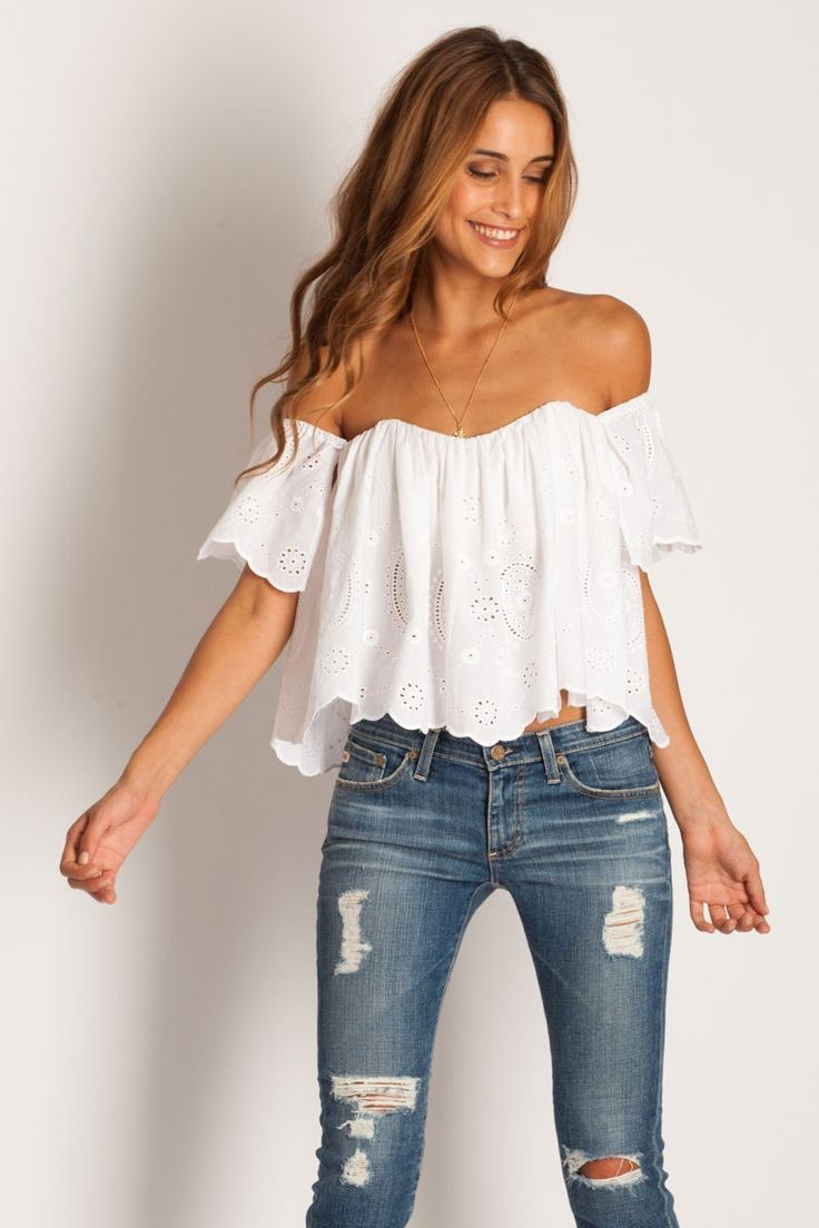 The Off-Shouldered Shake- Styling Off-Shouldered Tops   Cherry On Top
