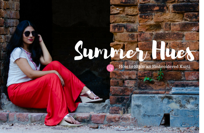 Summer Hues   How to Style for Summers   Cherry On Top