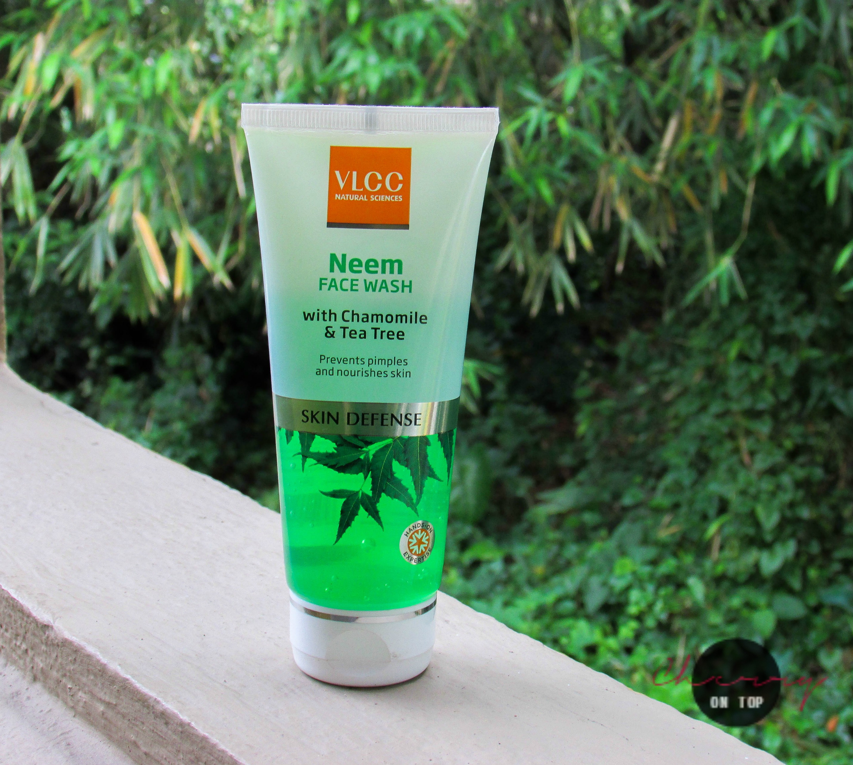 VLCC Neem Face Wash Review | Cherry On Top