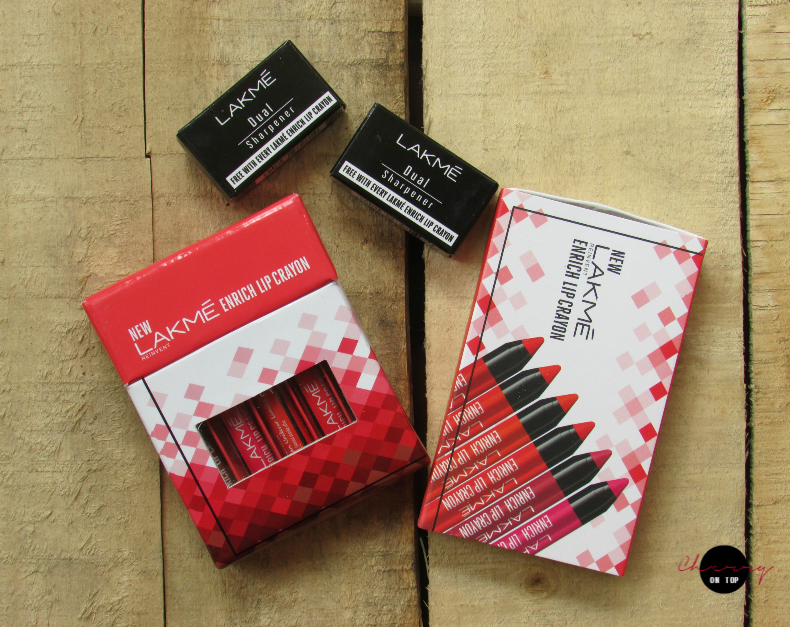 Lakme Enrich Lip Crayons Review | Cherry On Top