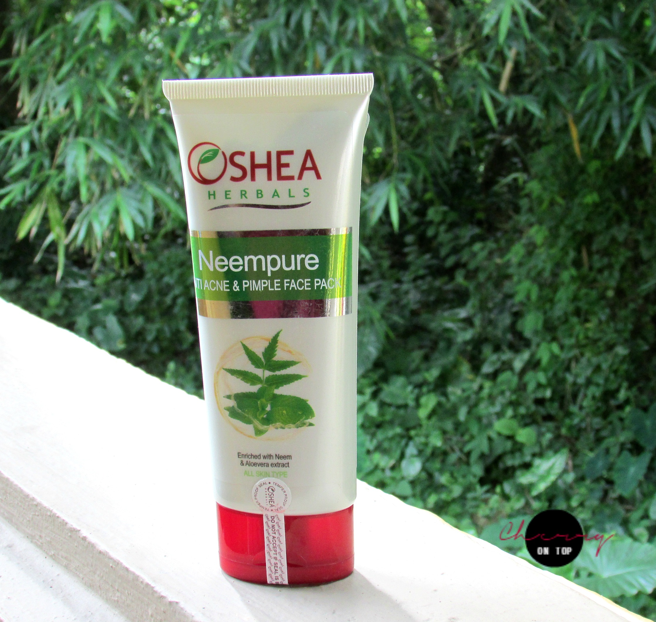 Oshea Herbals NeemPure Anti Acne & Pimple Face Pack | Cherry On Top