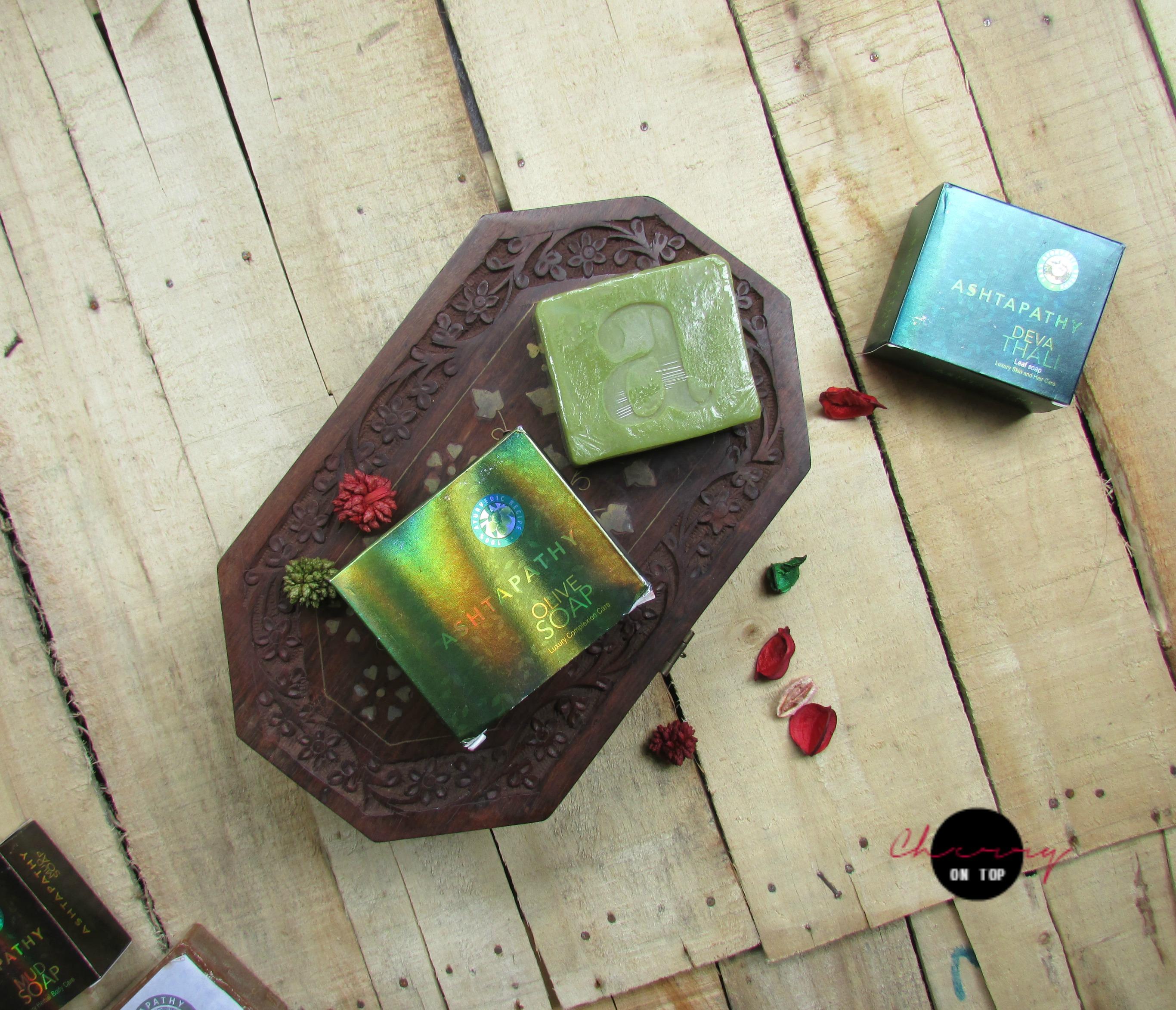 Ashtapathy Herbals Olive Soap Review