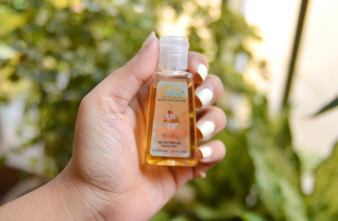 Kleanse Pocketbac Advanced Instant Antibacterial Hand Sanitizer Cinnamon Muffin Review