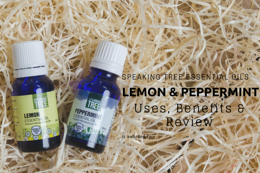 Speaking Tree Essential Oils- Peppermint & Lemon | Benefits, Uses, Review