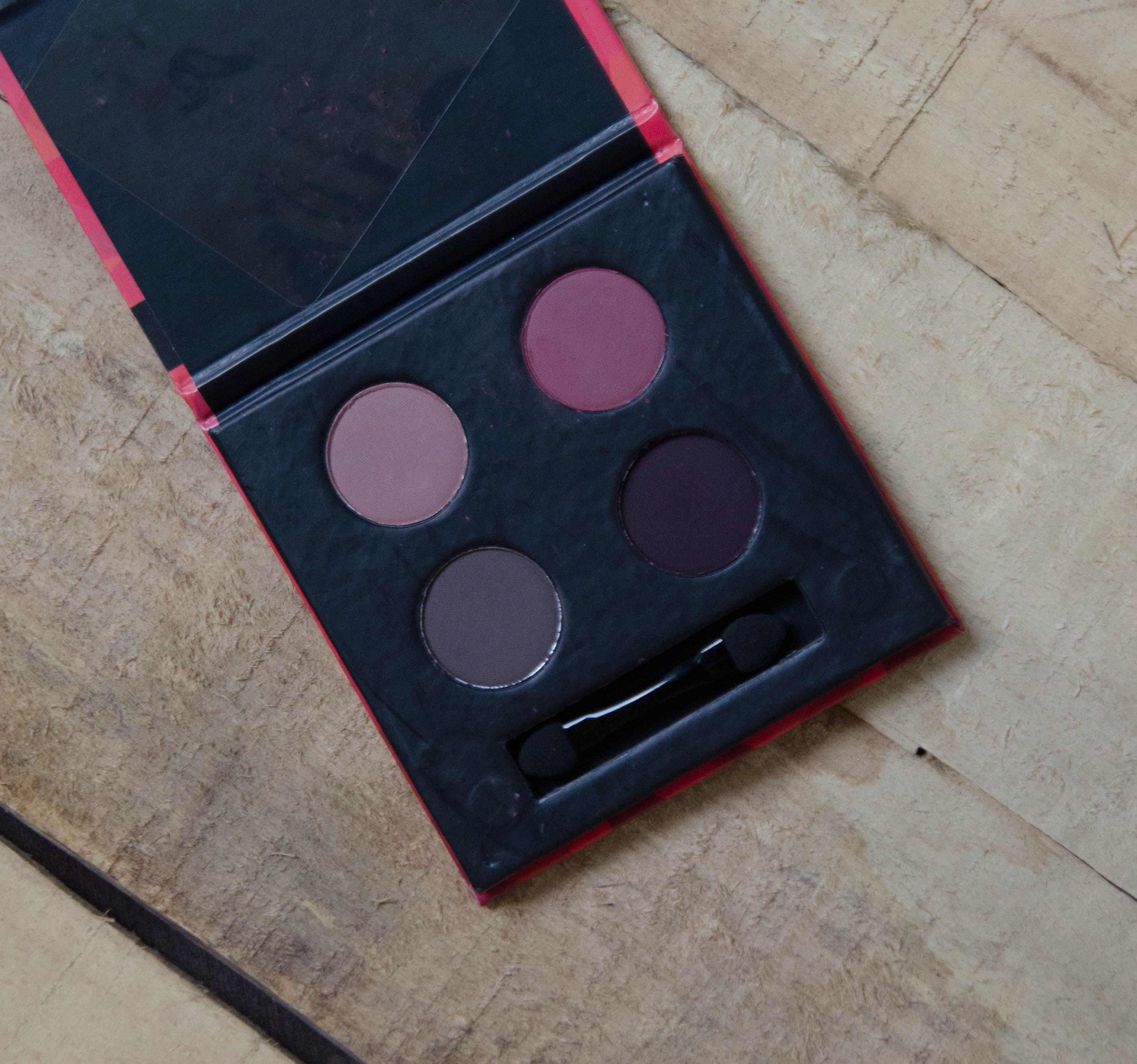 What's in My December 2017 Fab Bag | Sugar Blend the Rules Eyeshadow Quad Promiscuous