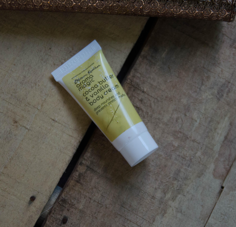 What's in My December 2017 Fab Bag | Blossom Kochhar Aroma Magic Body Cream