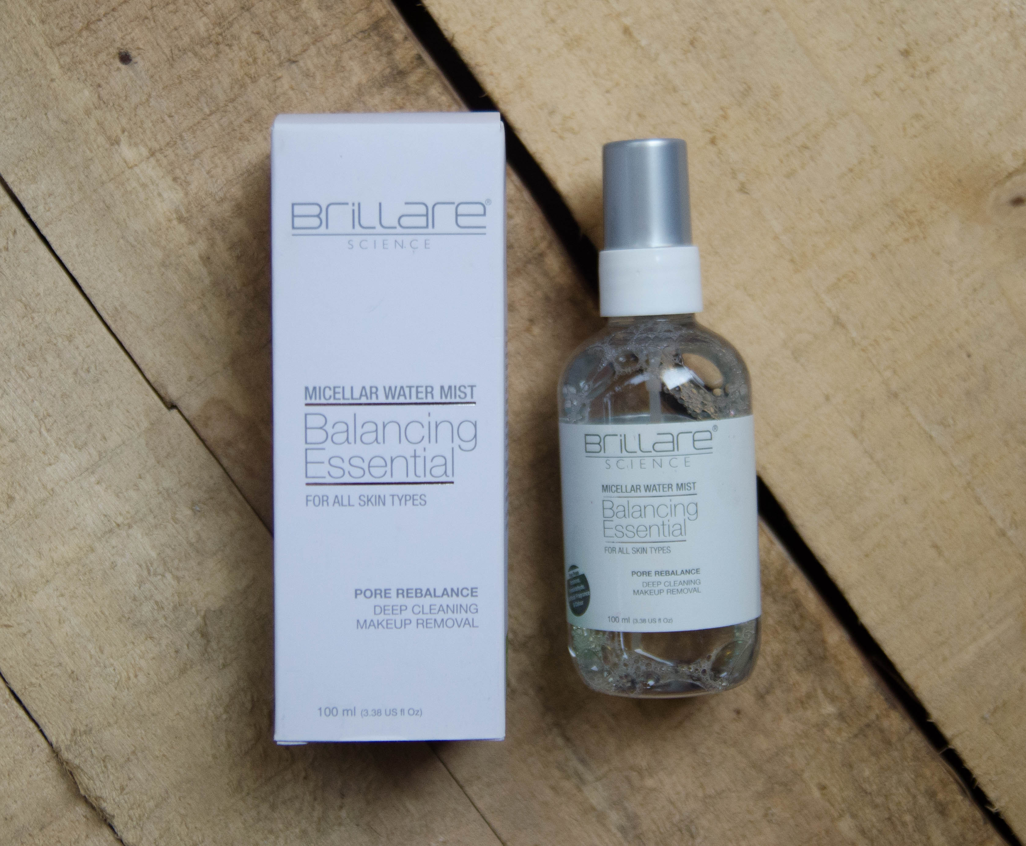 Brillare scince Micellar Water Mist Review, Demo, Price