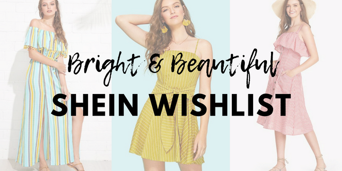 SHEIN summer wishlist | Cherry On Top