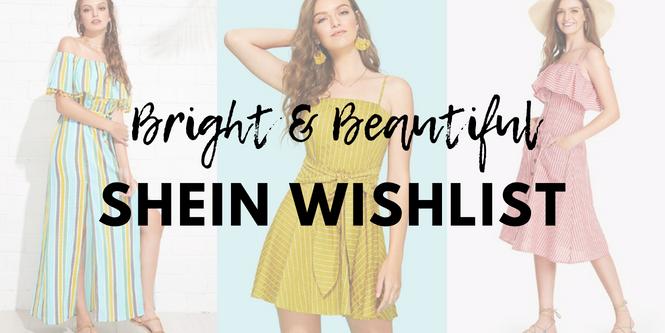 SHEIN summer wishlist | Cherry On Top