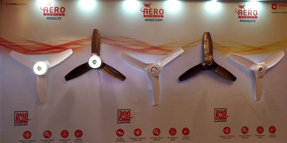 The Orient Electric Aero Series Fans | Cherry On Top