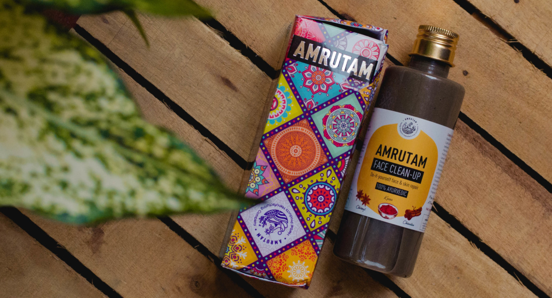 Amrutam Face Clean-Up Review | Cherry On Top