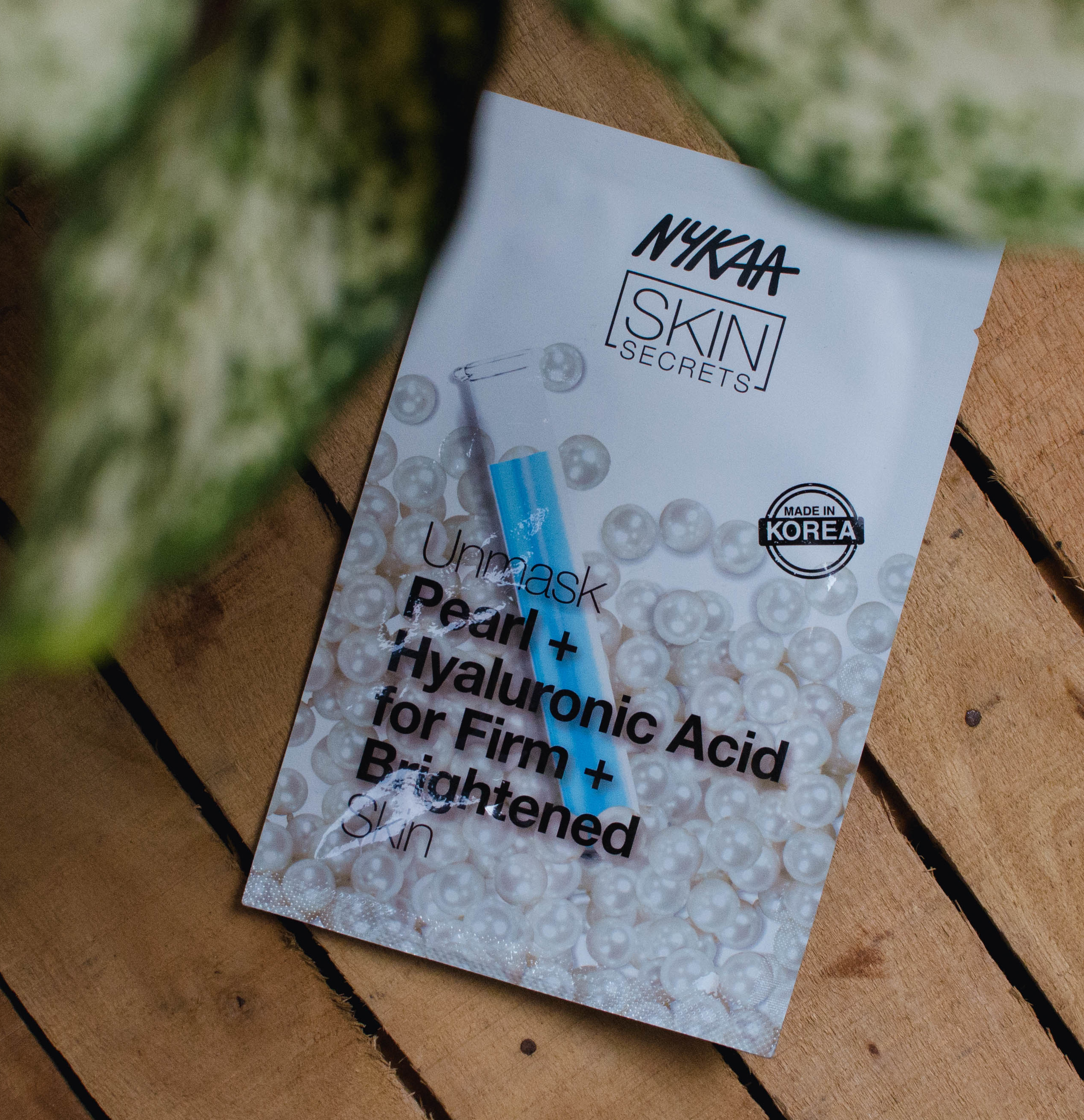 Nykaa Skin Secrets Face Sheet Mask Pearl+Hyaluronic Acid Review | Cherry On Top