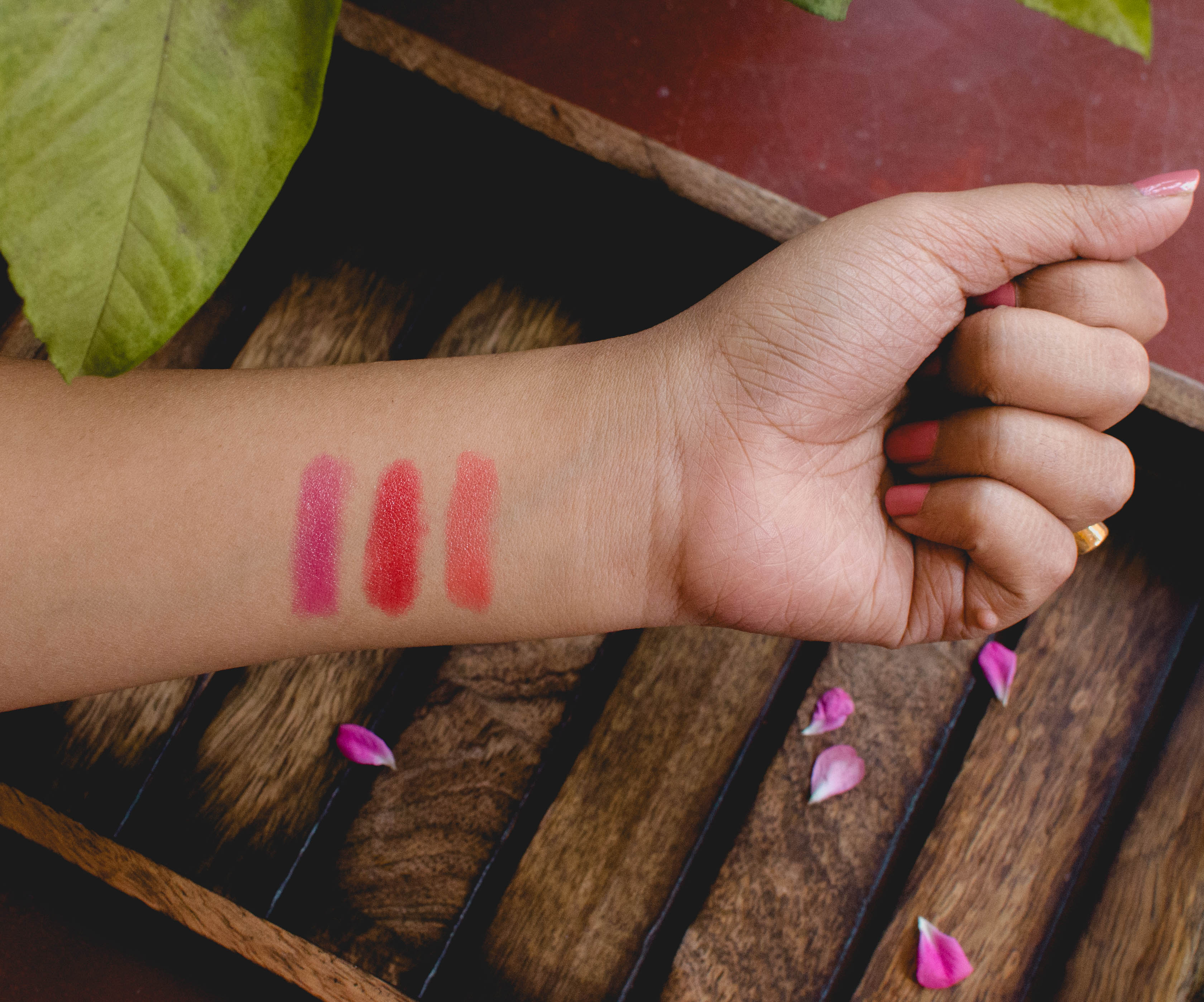 Nivea Coloron Lip Crayons Review and Swatches | Cherry On Top