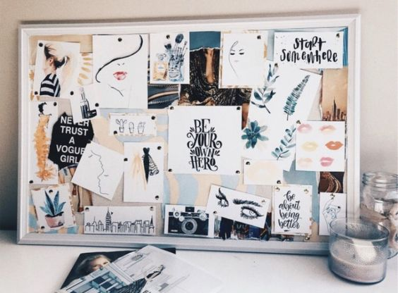 Vision Board Ideas Pinterest Tumblr | How to Stay Productive Everyday | Cherry On Top