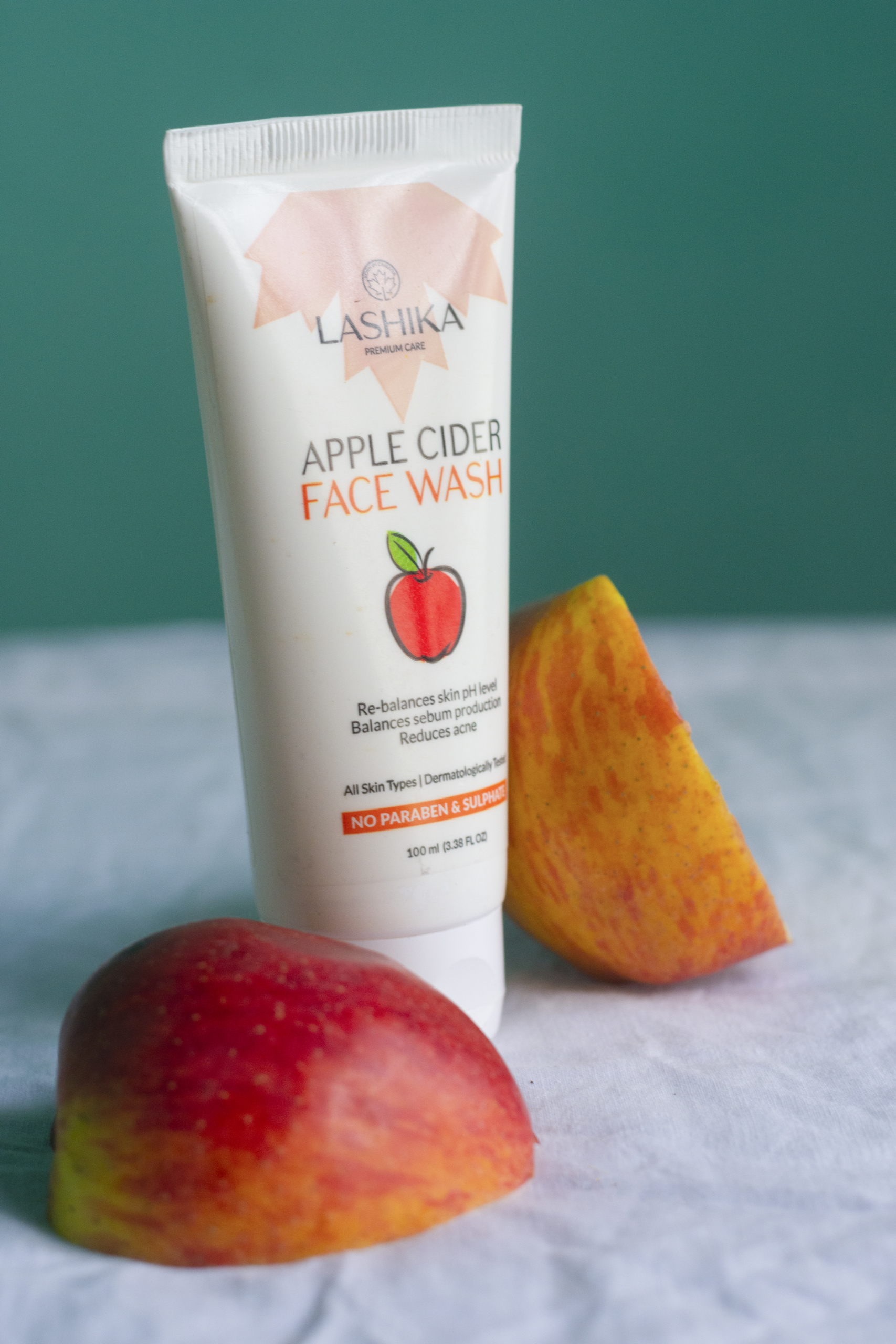 Lashika Apple Cider Face Wash | Cherry On Top