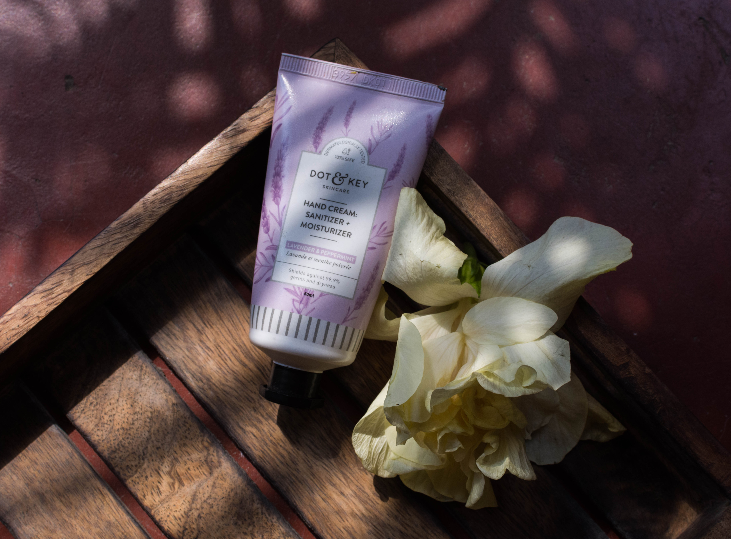 Dot & Key Hand cream and Sanitizer- Lavender Review | Cherry On Top