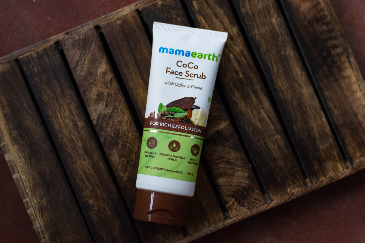 MamaEarth Coco Face Scrub honest review | Cherry On Top
