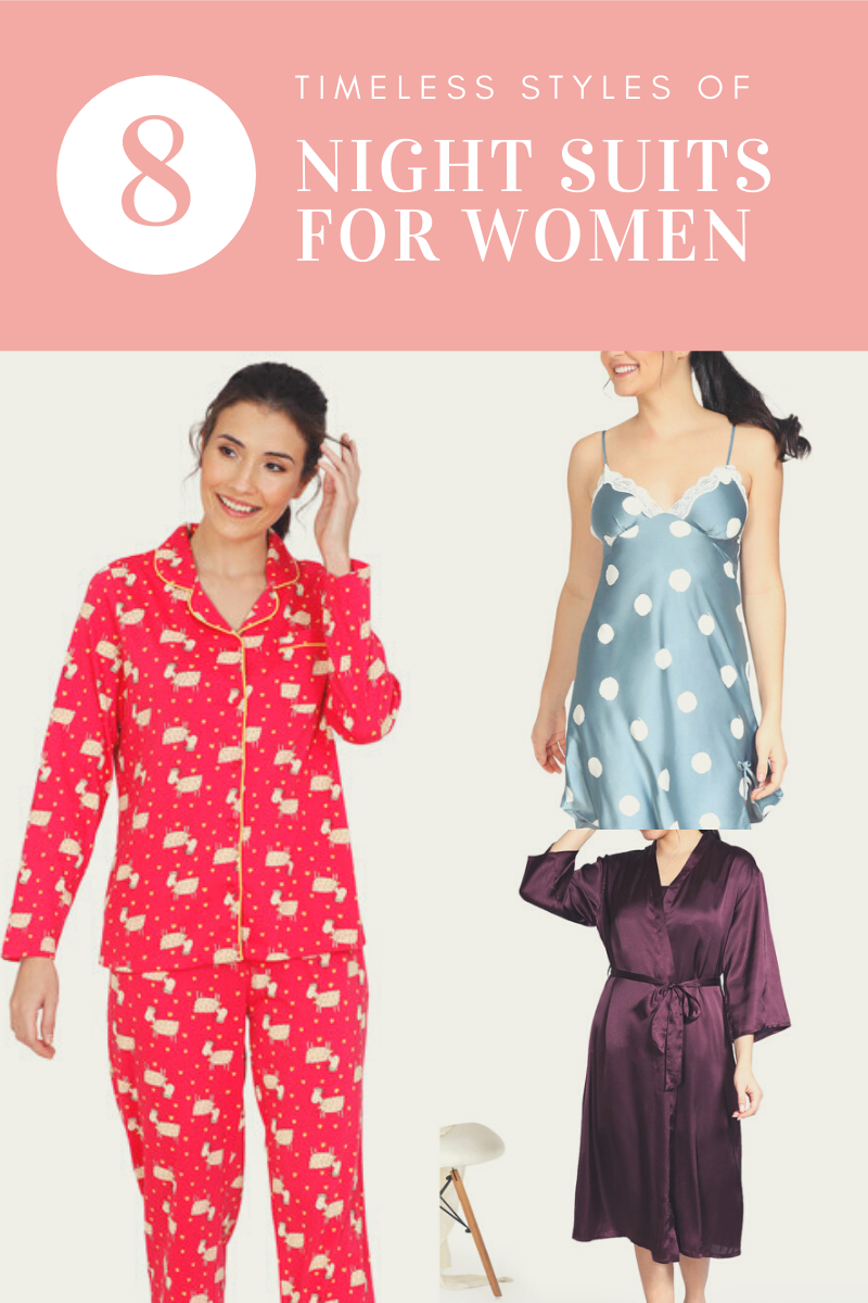 night suit for women for all age groups