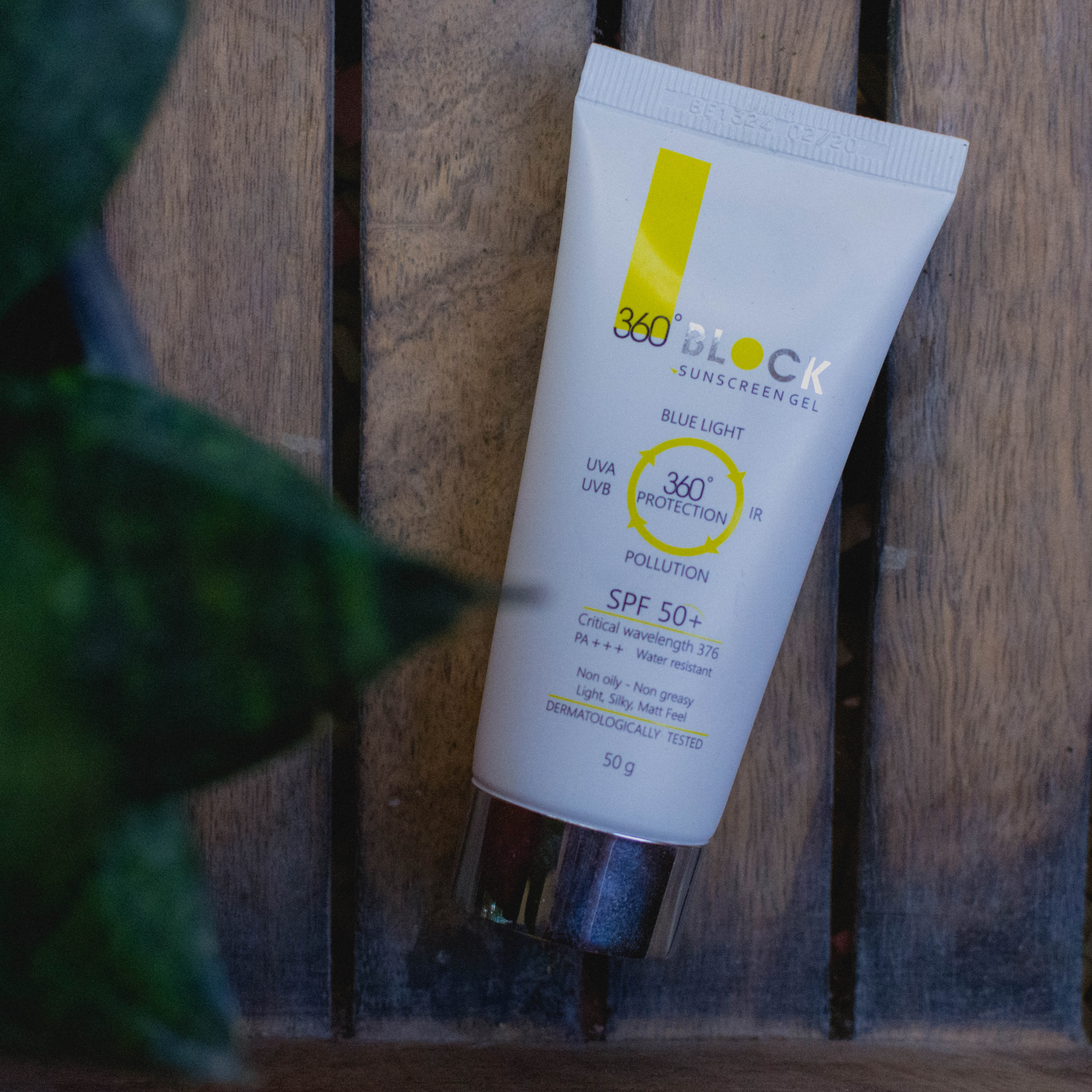 360° Block Sunscreen Gel SPF 50+ by Ethicare Remedies Review | The Best Sunscreen for Oily Skin | Cherry On Top Blog