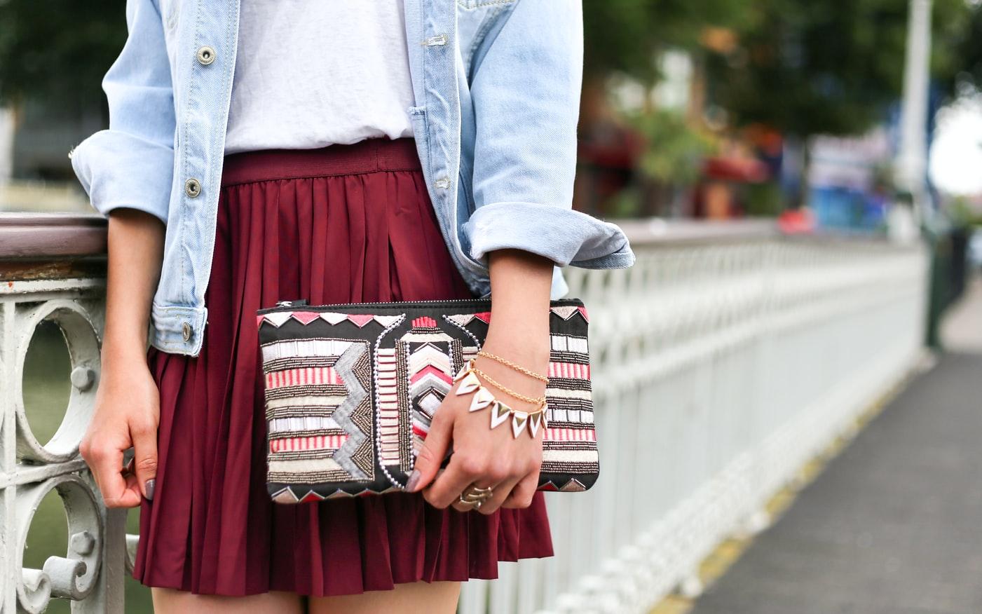 stylish handbag clutches for women